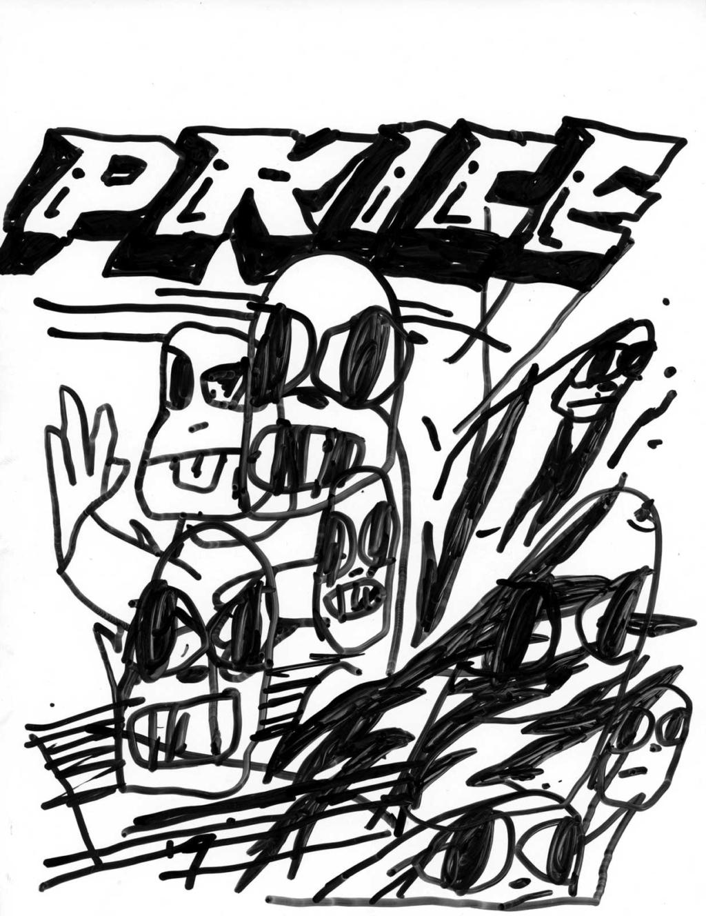 Kurt Woerpel drawings